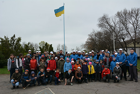 PPC Team Participated in Volunteer Cleanup at Andriivka Residential School