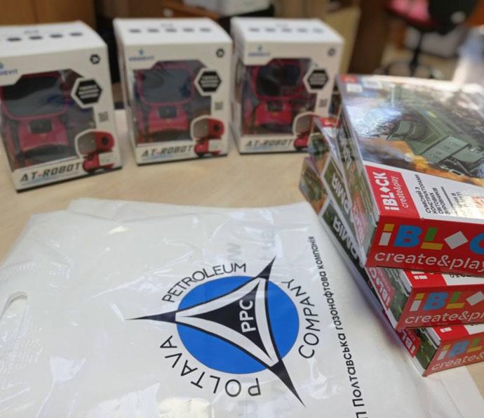JV PPC presented gifts to children of Poltava region for Children's Day